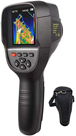 220 x 160 IR Resolution Infrared Thermal Imager, Handheld 35200 Pixels Thermal Imaging Camera,Infrared Thermometer with 3.2 Color Display Screen