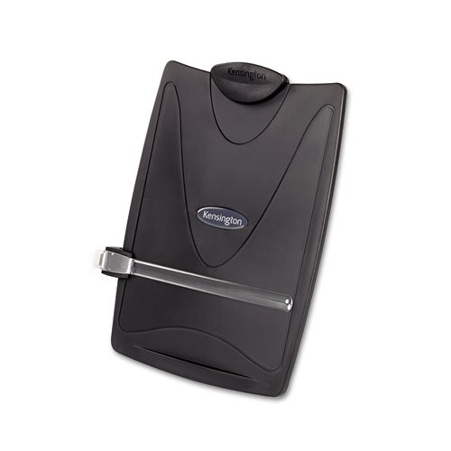 - o Kensington o - Insight Plus Easel Desktop Copyholder, 50-Sheet Capacity, Graphite