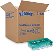 Kleenex Professional Facial Tissue for Business (21400), Flat Tissue Boxes, 36 Boxes / Case, 100 Tissues / Box