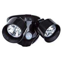 Everyday Home 80-108 80-108 Dual head Motion Activated 10 Led Security Light - Black