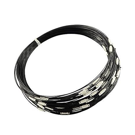 platino Pandahall precio por 100 piezas Cord/ón de seda neckalces con langosta broches de bronce rojo 17 ~ 18
