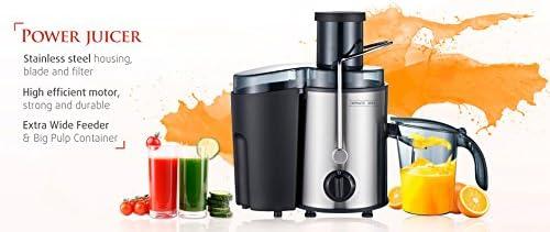 Exprimidor de zumo de frutas y verduras Royalty Line: Amazon.es