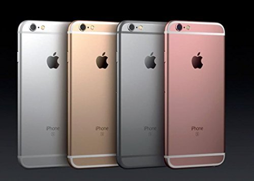 Apple iPhone 6S Factory Sealed Unlocked Phone, 16GB (Space Grey) - International Version, No Warranty