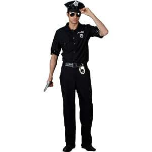 Terminator New York Cop Police Fancy Dress Costume XL (disfraz)