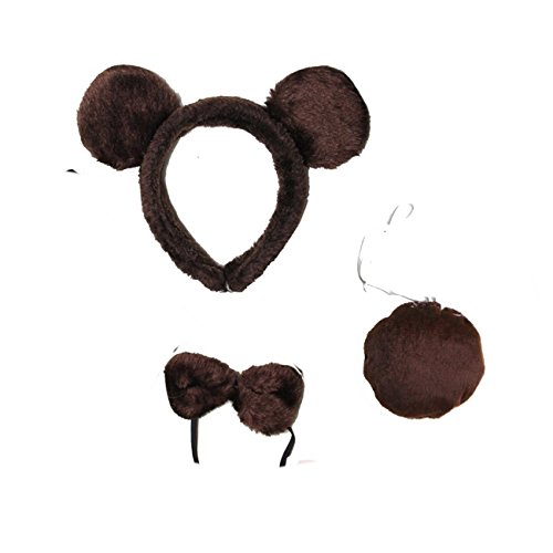 Brown Bear Costume Ears (Kirei Sui Kids Brown Bear Costume Set)