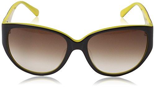 M Frame Œil de yellow Brown soleil Femme de Gradient Black Lens chat MM609S Missoni Lunette rqrHxAF