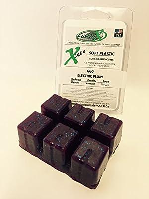 FUSION X FISHING - Xcube Soft Plastic Plastisol Lure Making Cubes - COLOR FAVORITES - 3 Pack