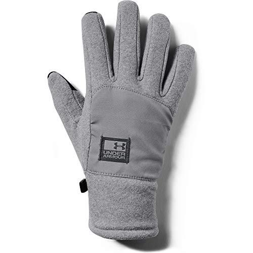 Under Armour Men's ColdGear Infrared Fleece Glove, Steel//Pitch Gray, X-Large