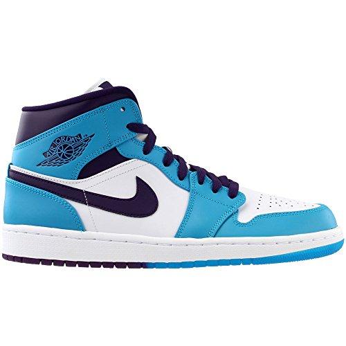 nbsp;Mid Nike Chaussure 1 Violet Grand Homme Jordan Lagon Bleu Air qPrTxPt