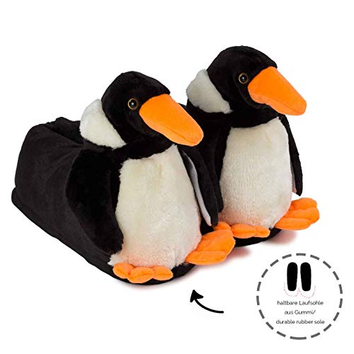Pantofole Peluche Inverno Unisex Funslippers Caldo Pinguino PqFxddBwS