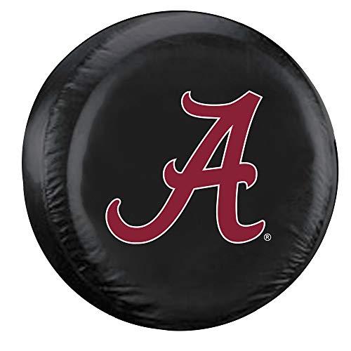 Fremont Die NCAA Alabama Crimson Tide Tire Cover, Standard Size (27-29