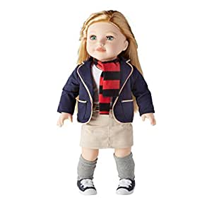 Amazon Com Newberry 18 Inch Doll Addison With Long