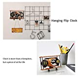 MIDCLOCK Aircraft Flip Clock, Retro Style Desk