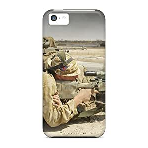 Kingsface Awesome Design British Snipers case cover For Iphone UX1F3qtrHCb 5c