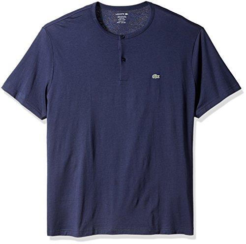Lacoste-Mens-Short-Sleeve-Henley-Jersey-Pima-Regular-Fit-T-Shirt