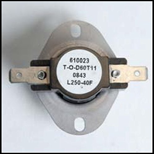 PelletStovePro - Breckwell Pellet & Gas High Limit Switch Disc 250 - 13-1121 FC ac-e-090-21 ()
