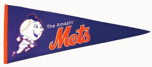 (MLB New York Mets Medium Throwback Pennant)