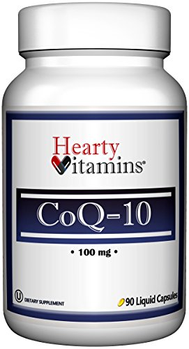 Aces 200 Softgels (CoQ 10 by Hearty Vitamins | For Heart Health Support, Immune Health, and Healthy Aging – 100 mg 90 Liquid Capsules)