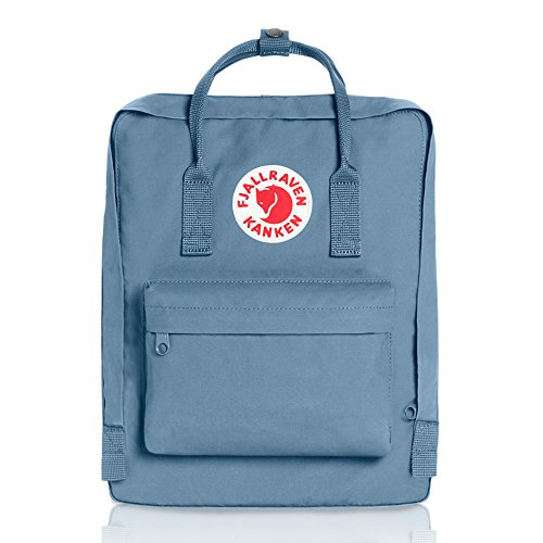 Fjallraven - Kanken Classic Pack, Heritage and Responsibility Since 1960, One Size,Blue Ridge (Just Fit Packs)