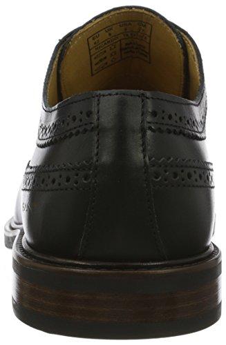 Gant Ricardo, Scarpe Stringate Brouge Uomo Nero (Black G00)