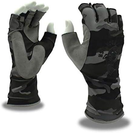 1xTwo-finger Throwing Rod Control Line Fishing Gloves Fishing Single-finger C2Z0