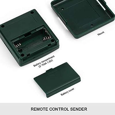CALI-INFRA RF-101 higrómetro digital inalámbrico para interior y ...