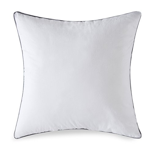 MIULEE Decorative Pillow Insert Form Sham Adjustable Cushion Square Throw Pillows for Sofa Bed 20'' L x 20'' W,50 x 50 cm/White by MIULEE
