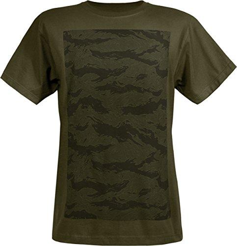 Musterbrand Metal Gear Solid T-Shirt Herren Spec Ops Camo 100% Pima Baumwolle Grün