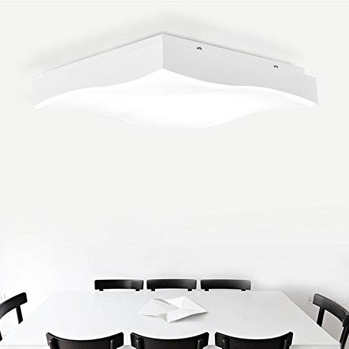 BLYC- Dimmbare LED Lampe Romantisches Schlafzimmer Lampe Wohnzimmer Decke Deckenleuchte mit Lichtwellen und schöpferischen Persönlichkeit der Atmosphäre 500 * 500mm