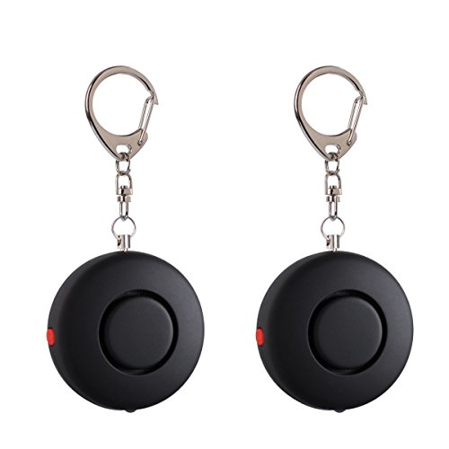 Find Discount 2 Pack Mengde 120dB Emergency Personal Alarm Safety Alarm Keychain For Women, Kids, Gi...
