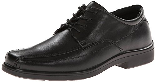 Hush Puppies Men's Venture Oxford, Black, 41.5 3E EU/7.5 3E UK