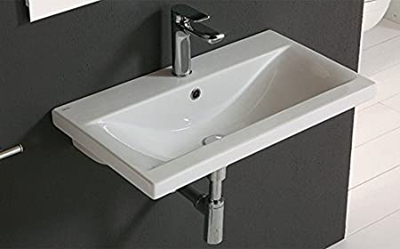 Althea Ceramica Arredo Bagno.Althea Ceramica Lavabo Arredo Mod Clever Bianco 71 Amazon It Casa E Cucina