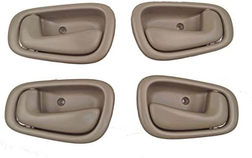 Toyota Corolla Tan Interior Door Handles Set of 4