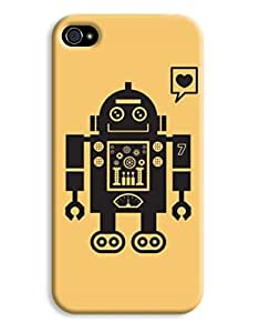 Bertie The Robot Case for your iPhone 4/4s
