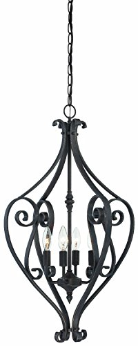 Thomas Lighting 190070722 Melody Chandelier, Sable Bronze