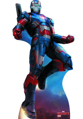 Iron Man 3 / Iron Patriot life-size stand-up (japan import) by Marvell