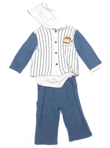 Spongebob Baby-boys Infant Boys 3pc Set