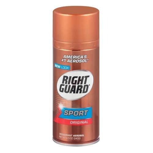 Right Guard Sport Deodorant, Aerosol, Original 8.5 oz