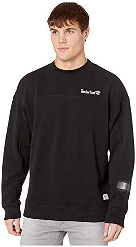 [Timberland(ティンバーランド)] メンズスウェット・パーカー等 Hampton Falls River Workwear Crew Neck Black L [並行輸入品]