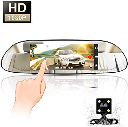 Mirror Dash Cam, MAYOGA 7
