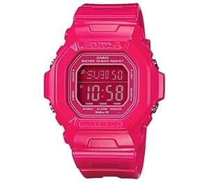 CASIO Baby-G BG-5601-4ER - Reloj de mujer de cuarzo, correa de resina color rosa (con cronómetro, alarma, luz)