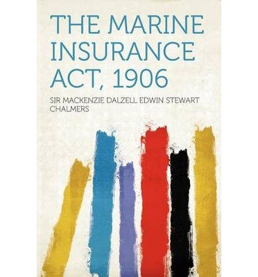 The Marine Insurance ACT, 1906 (Paperback) - Common pdf epub
