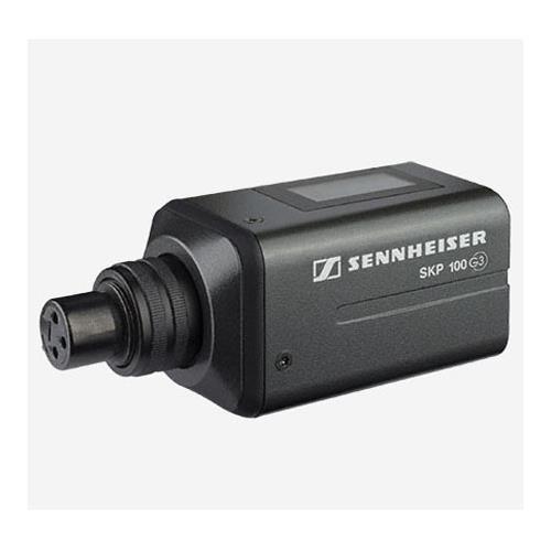 Sennheiser SKP 100 G3 Plug-on Transmitter for Dynamic Microphone, Frequency Range B (626-668MHz) by Sennheiser
