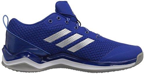Adidas Originals Mænds Freak X Kulstof Midten Crosstrainer Kollegialt Royal / Metallisk Sølv / Hvid 3FiewBP