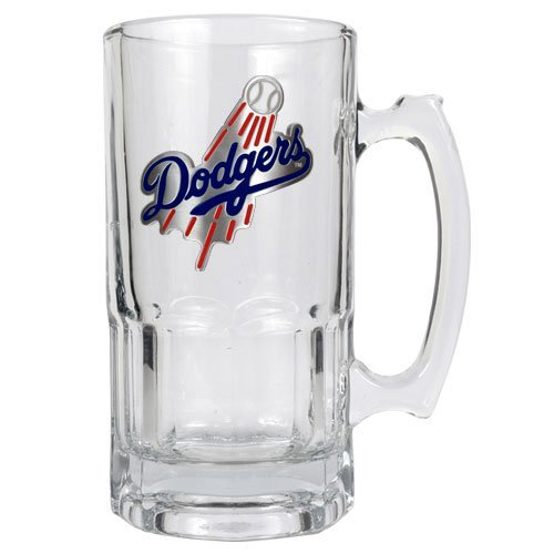 MLB Los Angeles Dodgers 1-Liter Macho Mug (Primary Logo) 1l Macho Beer Mug