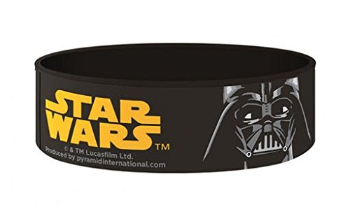 [Official Star Wars Gummy Wristband - Dark Side Darth Vader] (Luke Skywalker Dark Side Costume)