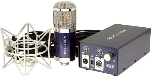 MXL Revelation Variable Pattern Tube Condenser Microphone with Flight Case