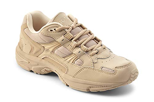 Vionic Women's Walker Classic Shoes, 10 C/D US, Taupe - Control Facia