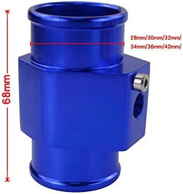 Sensrise giunto universale per auto temperatura dell/'acqua adattatore per sensore di temperatura dell/'acqua adattatore per radiatore blu tubo del tubo del sensore