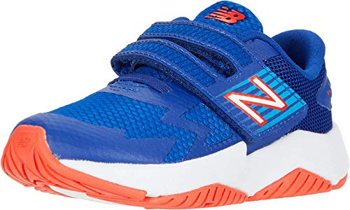 New Balance Rave Run I Boys' Infant-Toddler Running 8 M US Toddler Blue-Blue-Flame